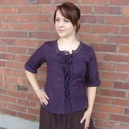 Blouse Claudia purple