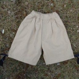 Boy's three quarter trousers cream