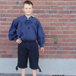 Pojkens tre fjärdedel byxor svart