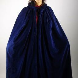 Capa de terciopelo Lily blue