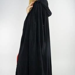 Płaszcz aksamitny Lily czarny
