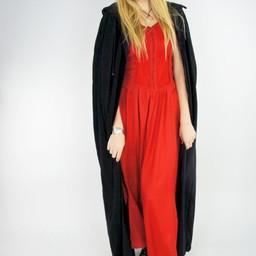 Velvet cloak Lily black