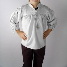 Camisa Duke para niño blanca