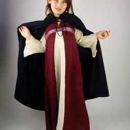 Cotton children's cloak blue