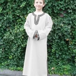 Tunika celtycka chłopięca Finn kremowy