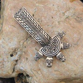 Merovingian bow brooch