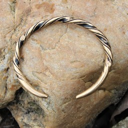 Viking bracelet Danelaw, bronze
