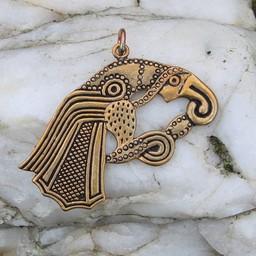 amuleto de cuervo germánica