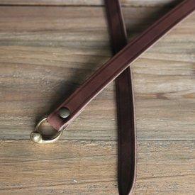 Ceinture celtique de La Tène avec crochet de ceinture, brun