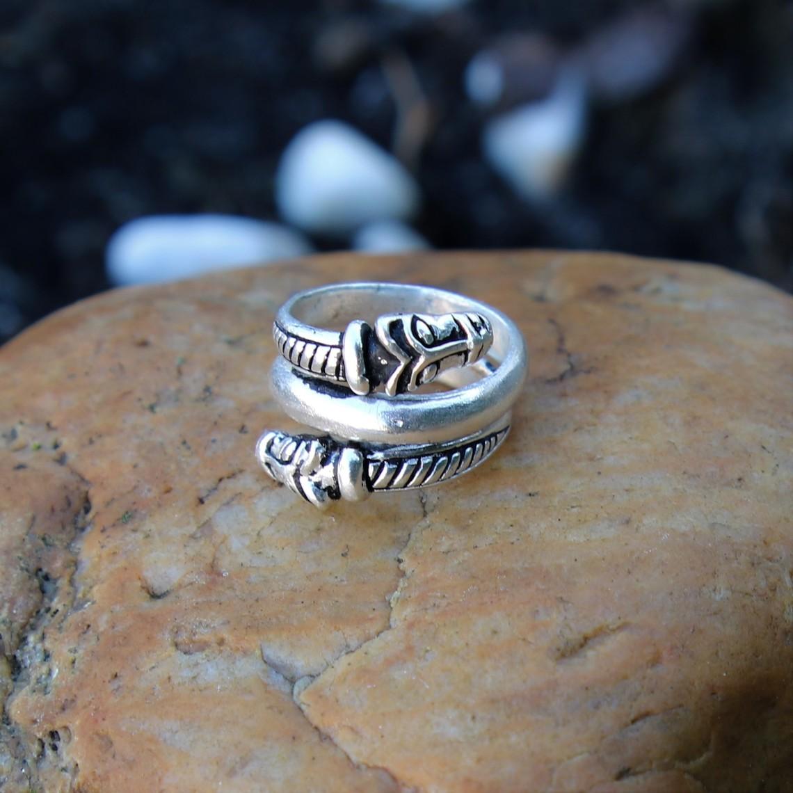 Islande luxe anneau Viking, argentait