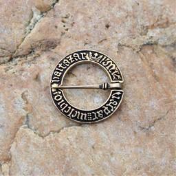 Middeleeuwse ringbroche, brons