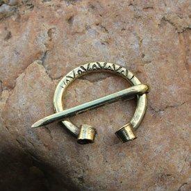 Viking hestesko lægben Birka, bronze