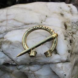 Viking podkowy strzałkowa Birka, brąz