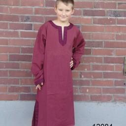 Celtic boy's tunic Finn red