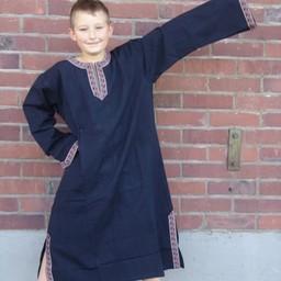 Celtic boy's tunic Finn black