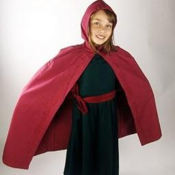 Płaszcz dziecięcy Alexis czerwony