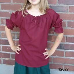 Blusa niña Rosamund rojo