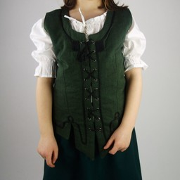 Flickjacka Christine grön