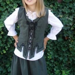 Pigejakke Christine grøn