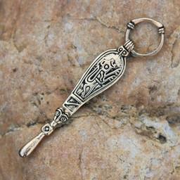 cuchara oído birka de Viking, lápidas 660
