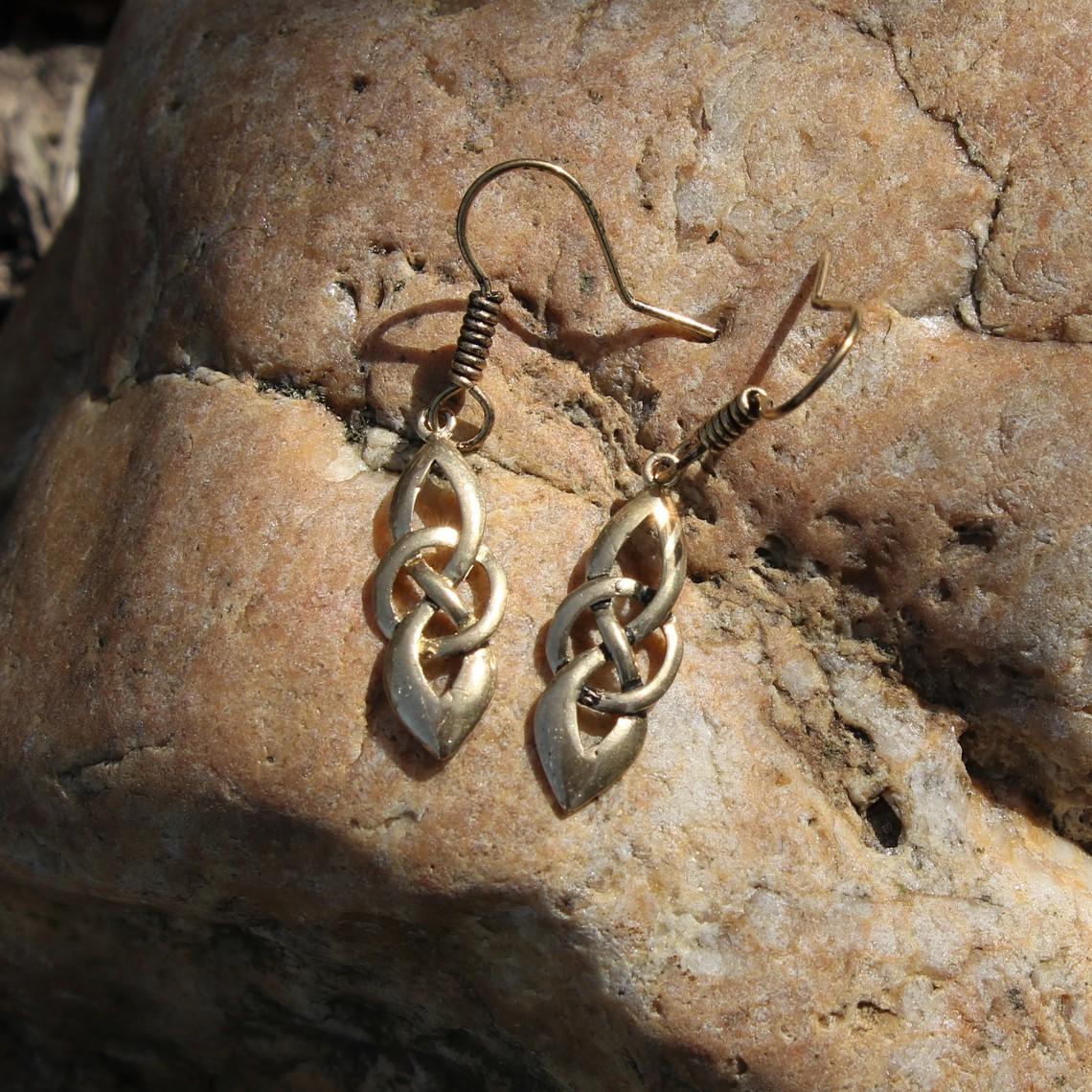 Celtic Ohrringe Dagda, Bronze