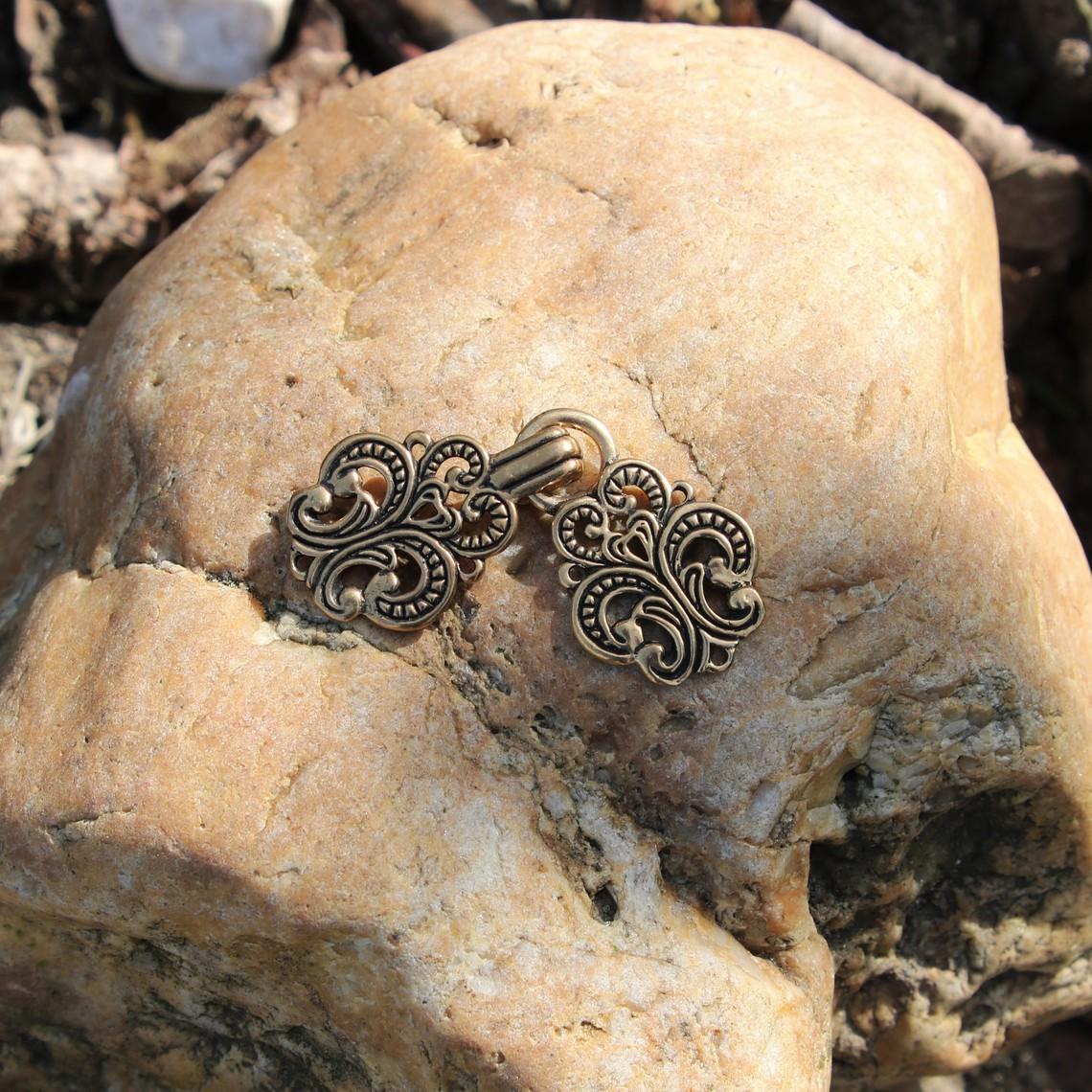 Umhang Spange Norwegen, Bronze