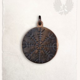 colgante de Viking Aegisjalmur