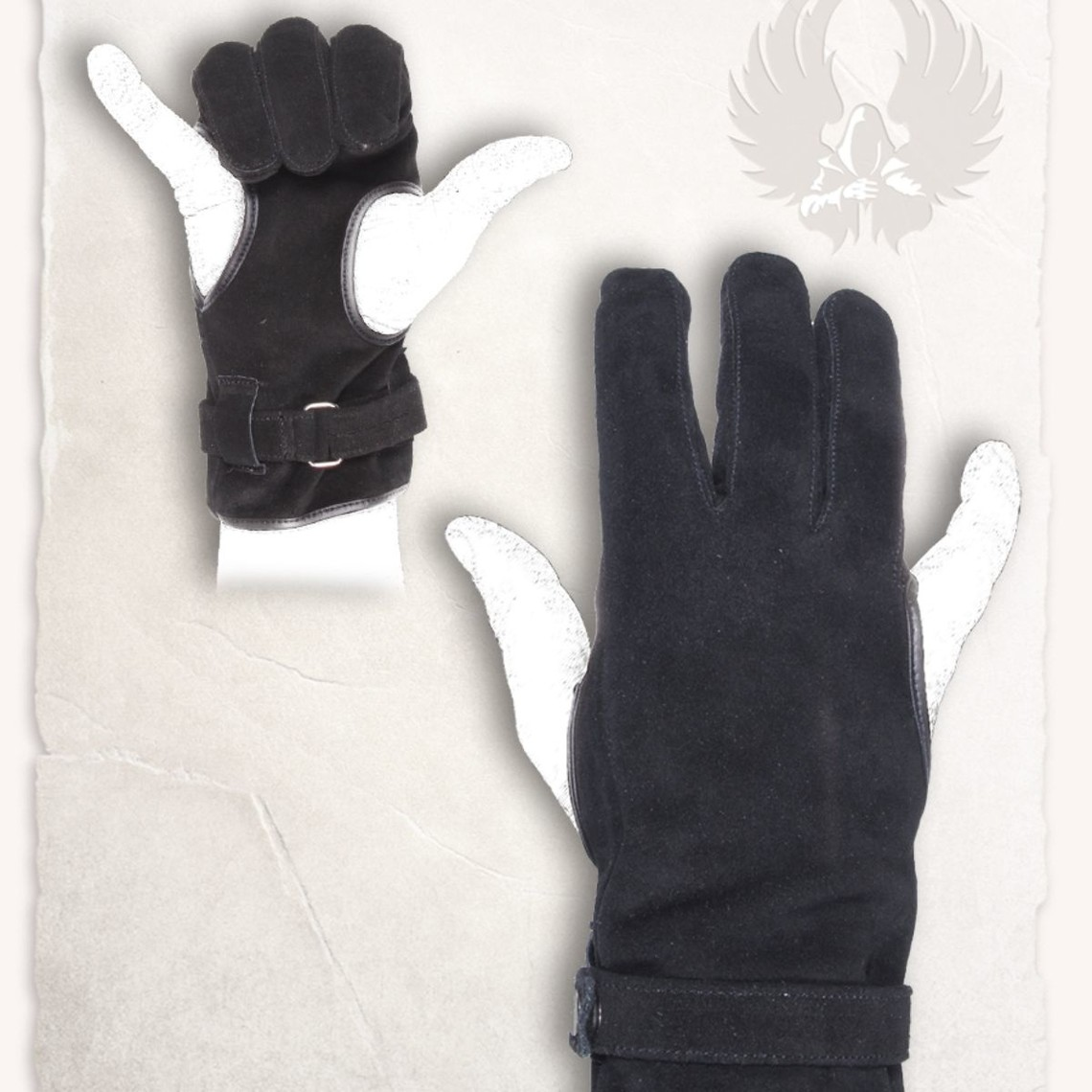 Mytholon Boogschutter handschoen Robin zwart