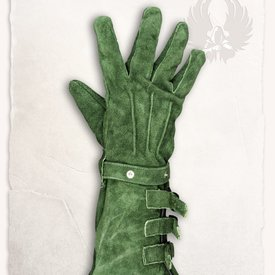 Mytholon Guanti di pelle Kandor verdi