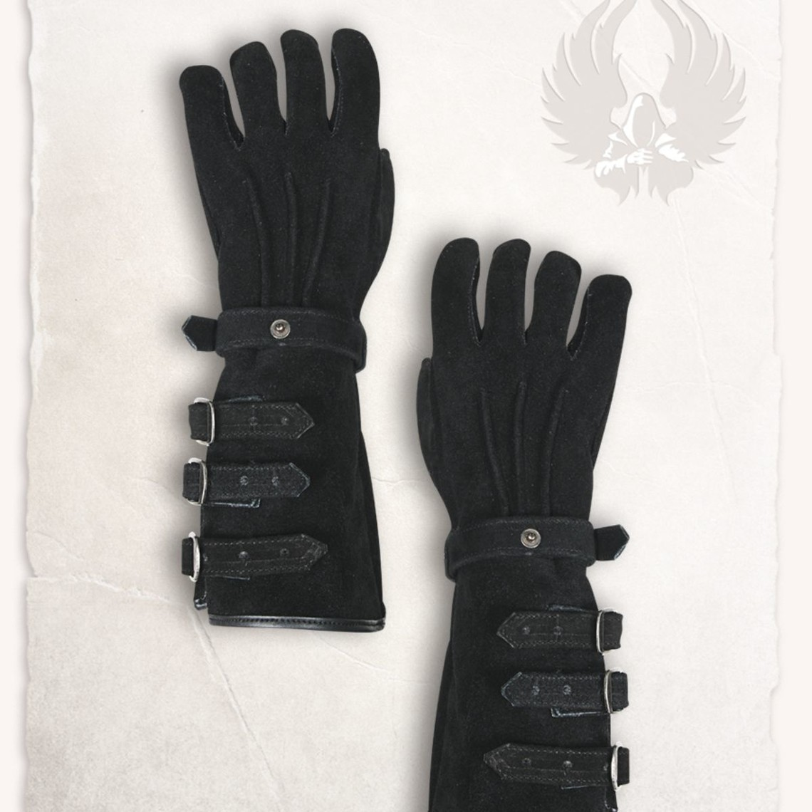 Mytholon Leren handschoenen Kandor zwart