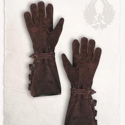 Læderhandsker Kandor brune