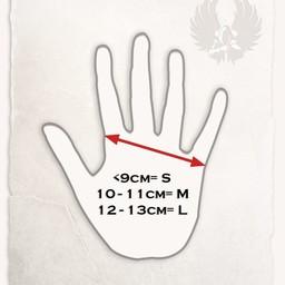 Rękawice skórzane Kandor jasnobrązowy