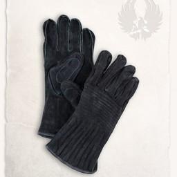 Rękawice skórzane Clemens czarny