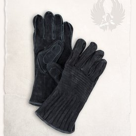 Mytholon Leather gloves Clemens black