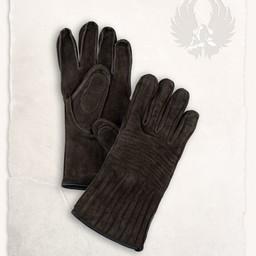 Rękawice skórzane Clemens brązowy