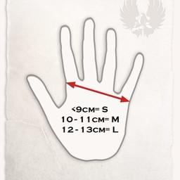 Leren handschoenen Clemens bruin