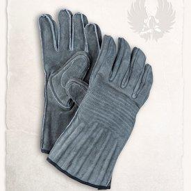 Mytholon Leather gloves Clemens olive
