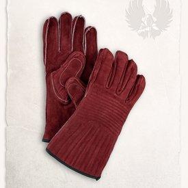 Mytholon Le bourgogne de gants en cuir