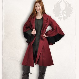 Coat Lilian burgundy black