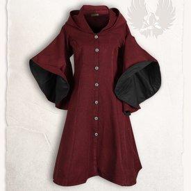 Mytholon Coat Lilian burgundy black