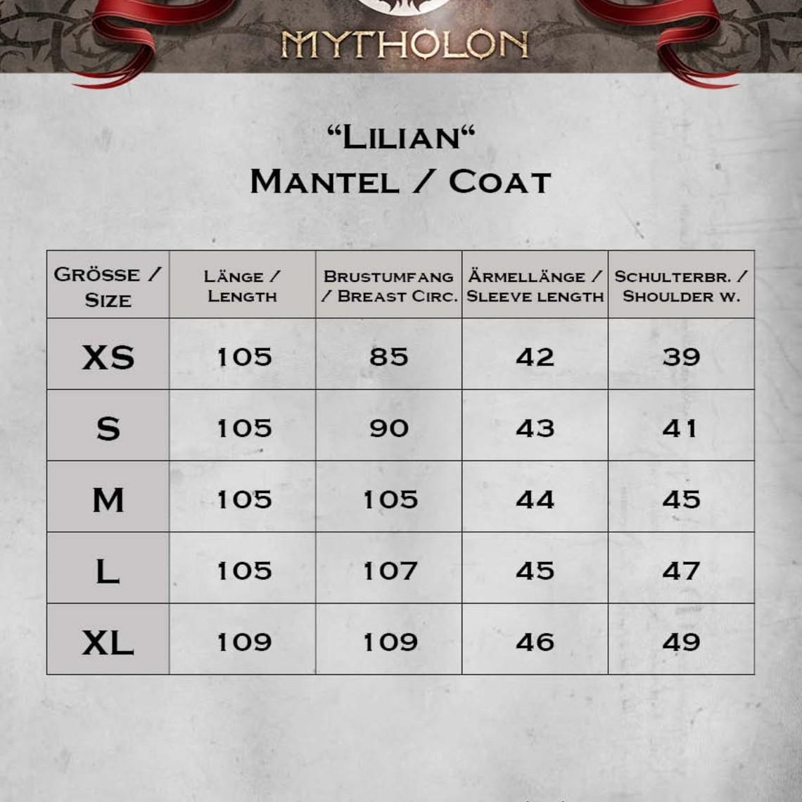 Mytholon Jas Lilian zwart/naturel
