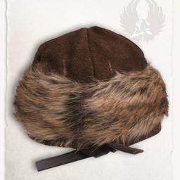 Viking muts Ragi leder, bruin