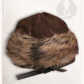 Mytholon Viking cap Ragi leather, brown