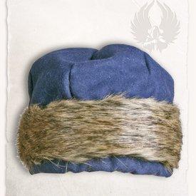 Mytholon Viking cap Ragi wool, blue