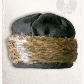 Mytholon Viking cap Ragi wool, black