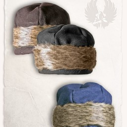 Viking muts Ragi wol, zwart