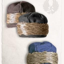 Viking cap Ragi wool, brown