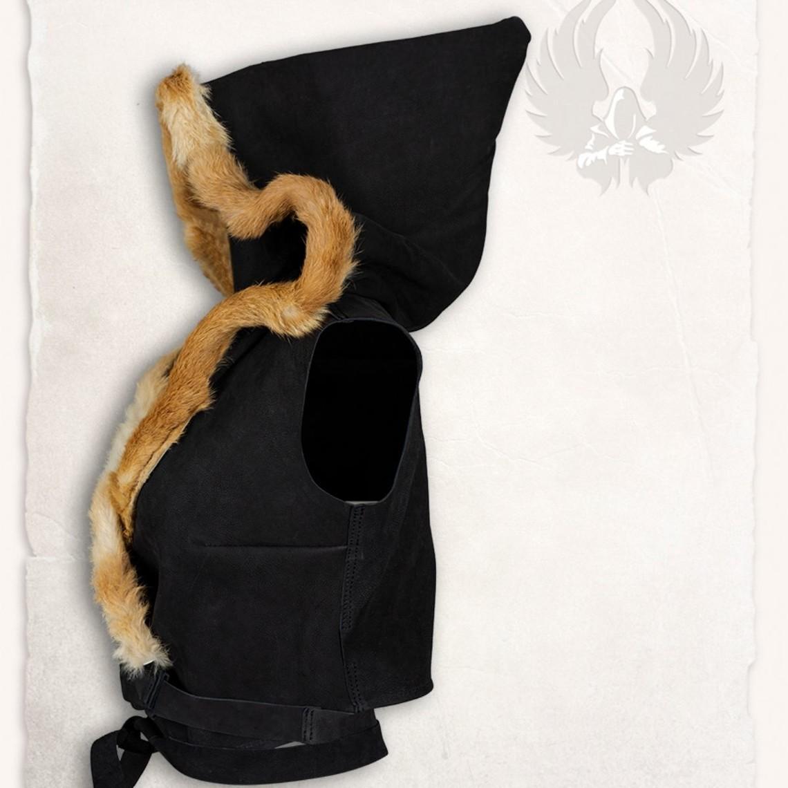 Mytholon Leder top Jetta, zwart