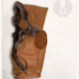 Mytholon top in pelle Jetta, marrone