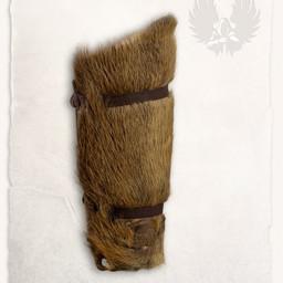 Fur greave Osferth, pair